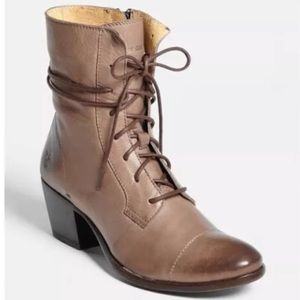 Frye Courtney Lace Up Ankle Boots 6.5